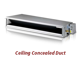 Ceiling Conceled Duct ETS